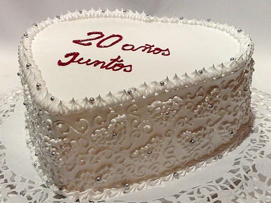 20 aniversario torta