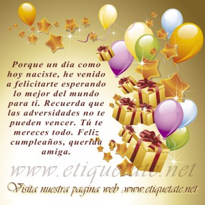 Feliz Cumpleaños Querida Amiga_Feliz cumpleaños