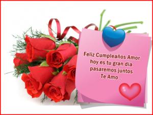 Imágenes para cumpleaños de amor