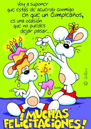 Imágenes para cumpleaños de amigos originales