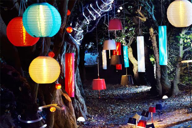 Cómo iluminar el jardín para un cumpleaños de niños