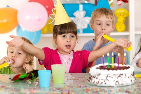 Cumpleaños en casa para niñas