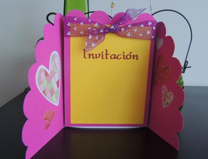 Invitaciones de cumpleaños hechas en casa