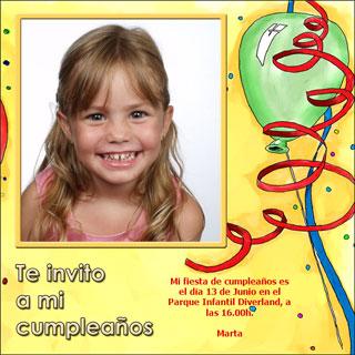 Invitaciones de cumpleaños originales