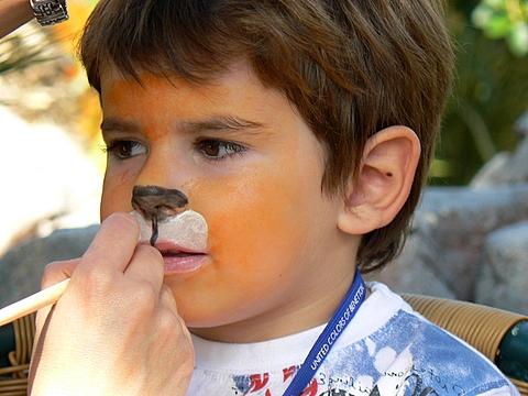 Pasos para pintar caras en un cumpleaños de niños