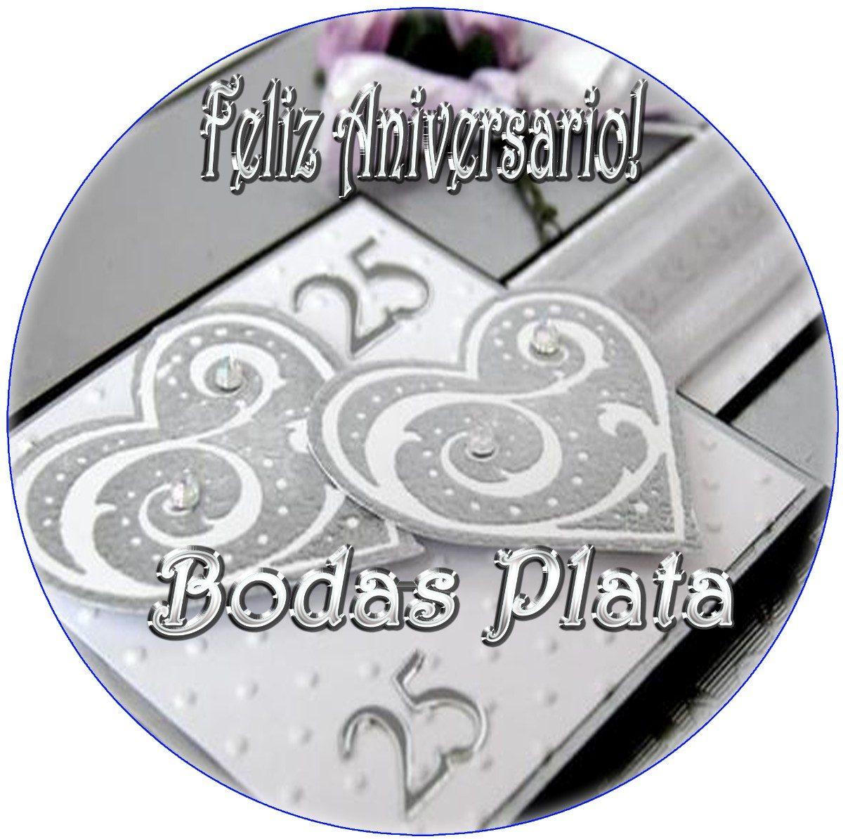 25 aniversario Bodas de plata