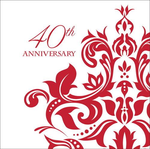 40 aniversario regalos