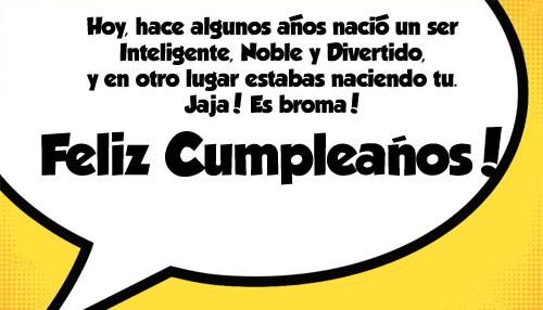 Felicidades por cumpleaños