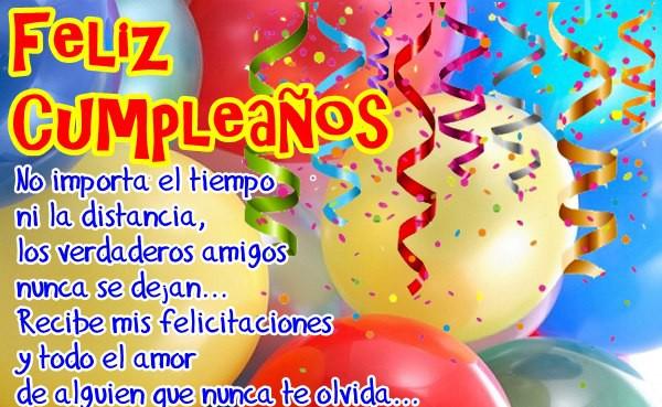 Felicitaciones cumpleaños gratis online