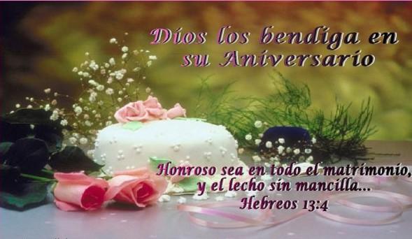 Felicitaciones de aniversario