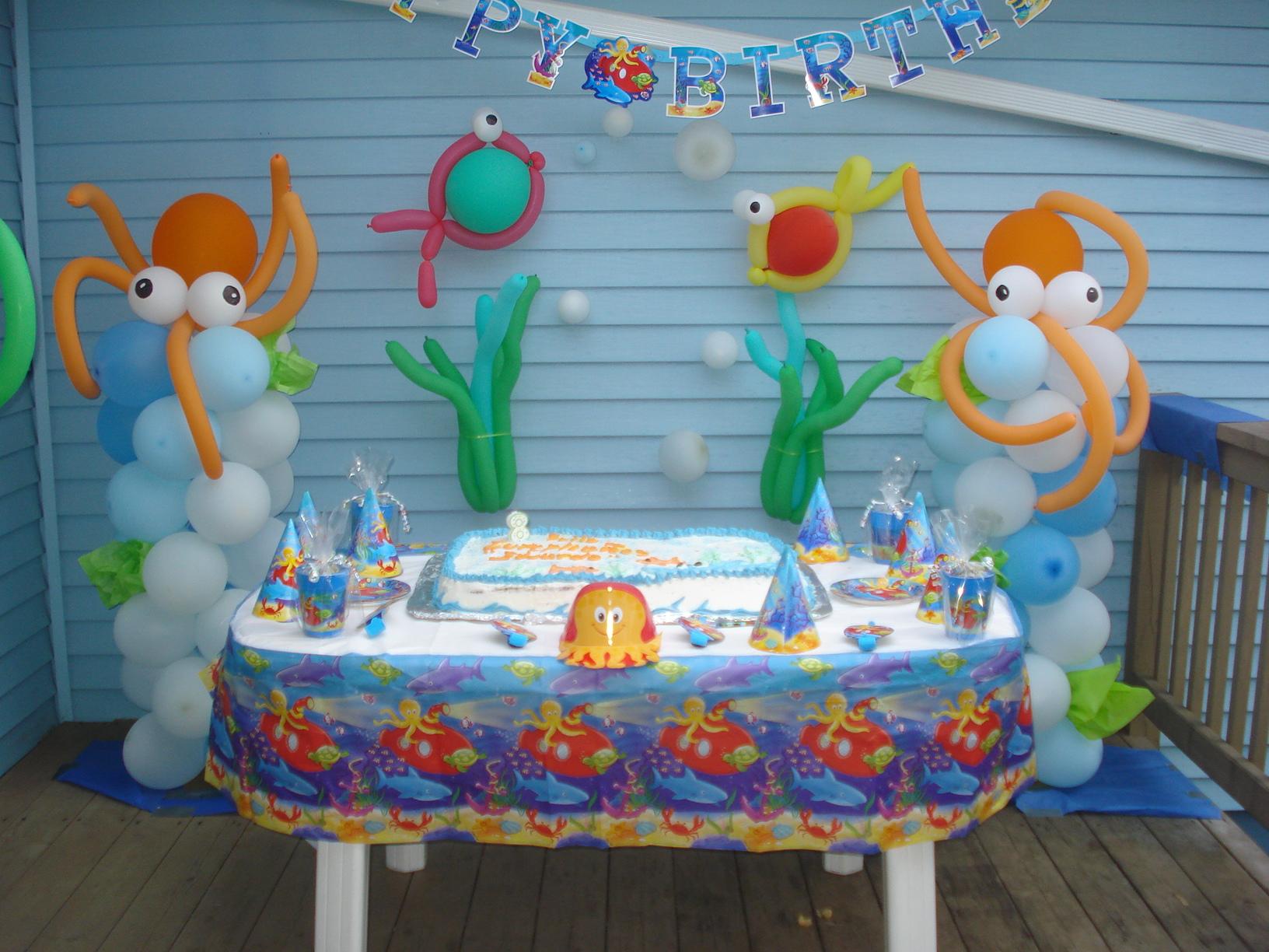 Felis cumpleaños decoracion