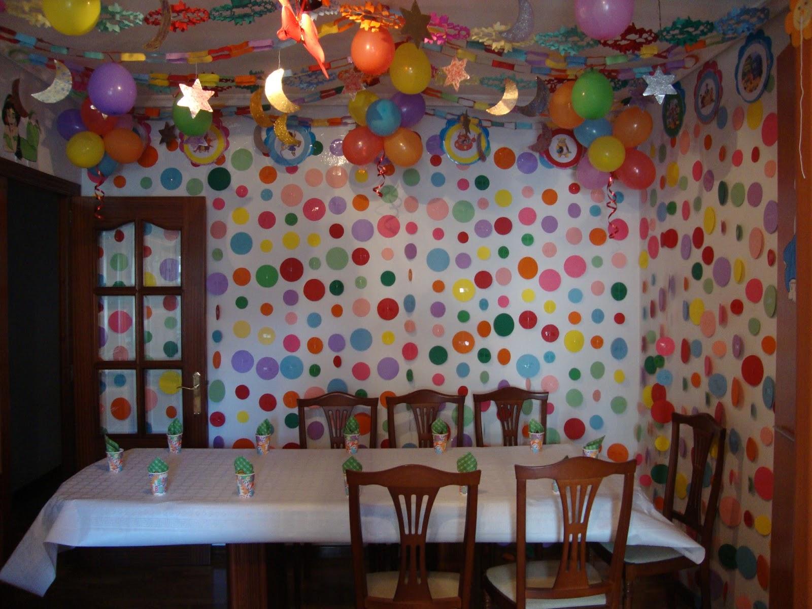 Feliz cumpelaños decoracion