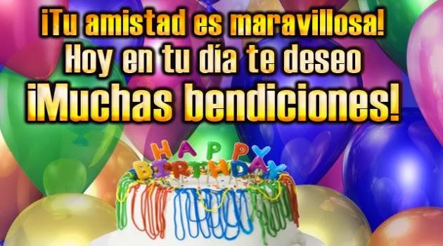 Feliz cumpleaños amiga especial