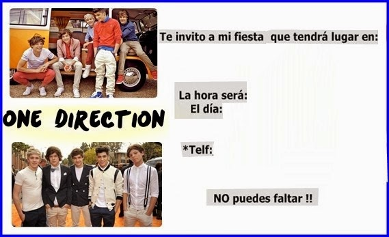 Feliz cumpleañoz one direction