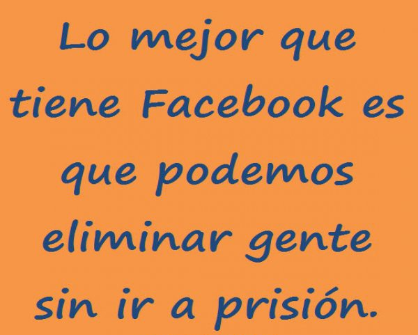 Frases chistosas facebook