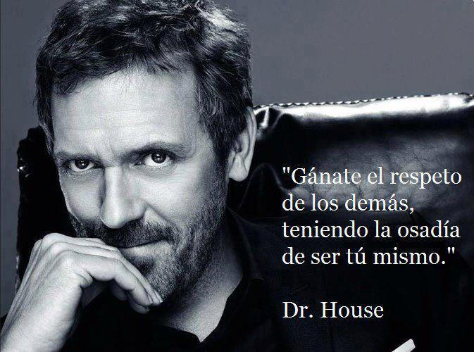 Frases con imágenes doctor house