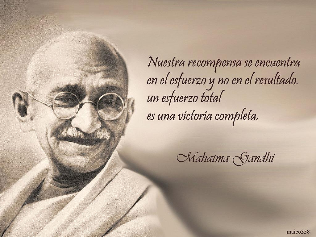 Frases de Gandhi facebook