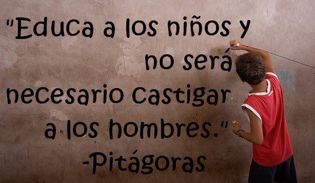 Frases filosóficas pitagoras