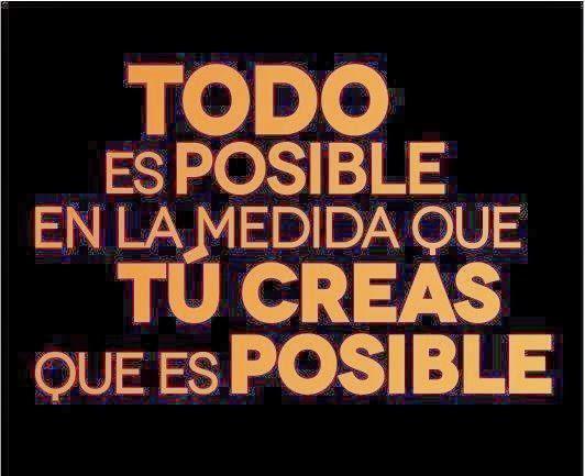 Frases inspiradoras sobre lo imposible