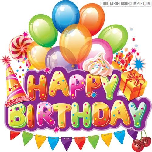 Imágenes de happy birthday gratis