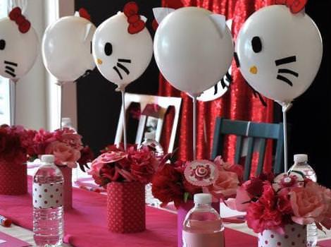 Imágenes de hello kitty de cumpleaños variadas