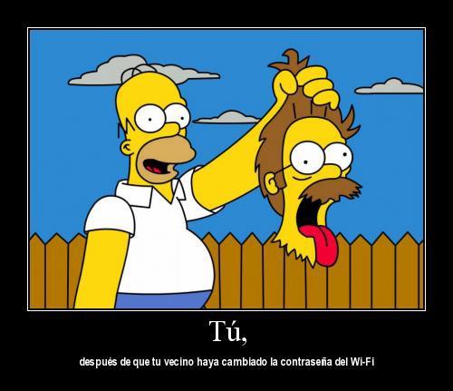 Imagenes comicas Los Simpsons