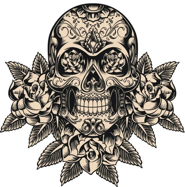 Imagenes de calaveras tatuajes