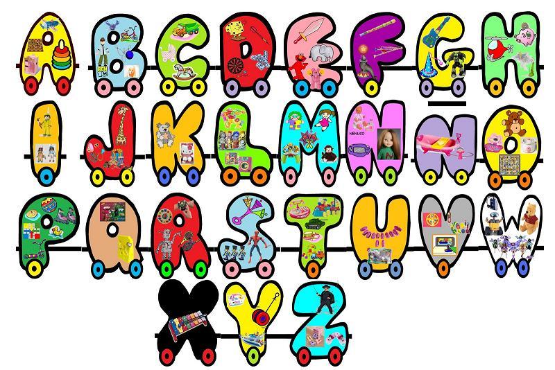 Imagenes de letras abecedario