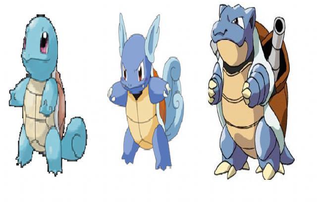 Imagenes de pokemon evolucion