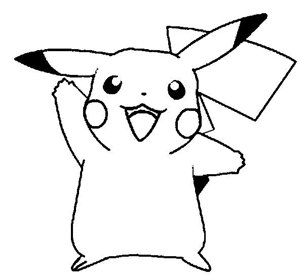 Imagenes para dibujar pikachu