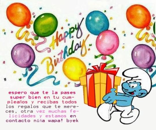 Mensajes cumpleaños hermosos