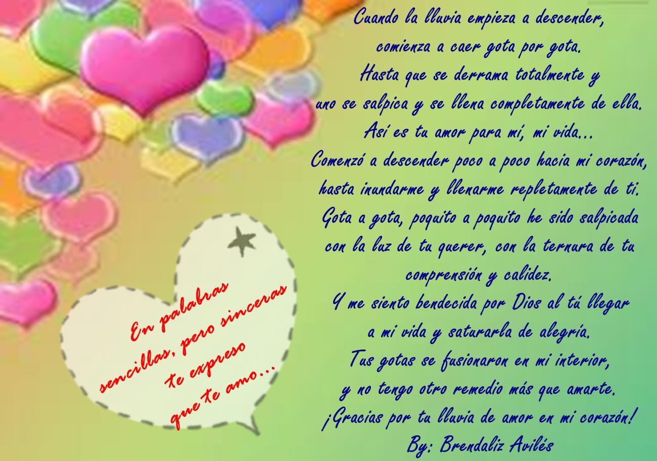 Mensajes de aniversario de amor