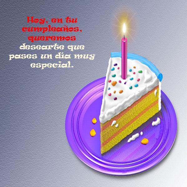 Postales feliz cumpleaños facebook
