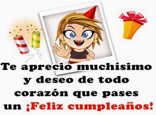 Saludos cumpleaños feliz