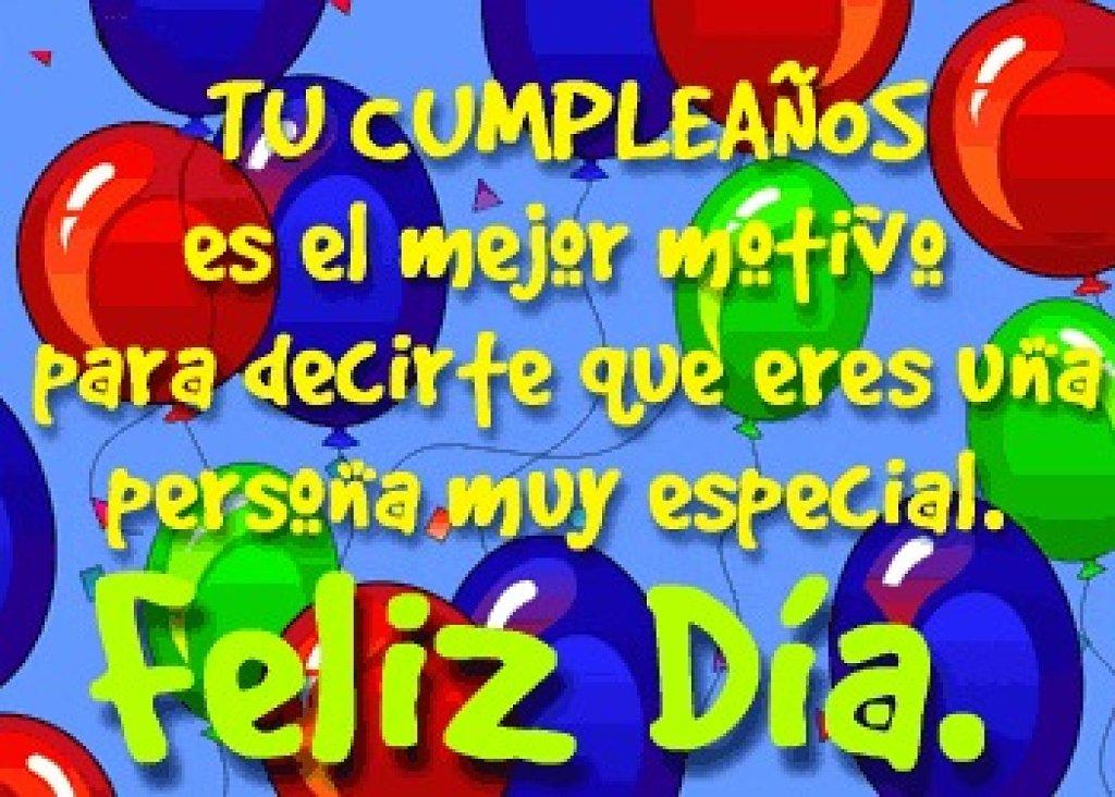 Saludos cumpleaños
