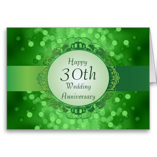 Tarjetas aniversario 30 aniversario