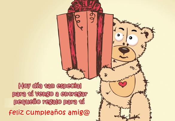 Tarjetas cumpleaños face