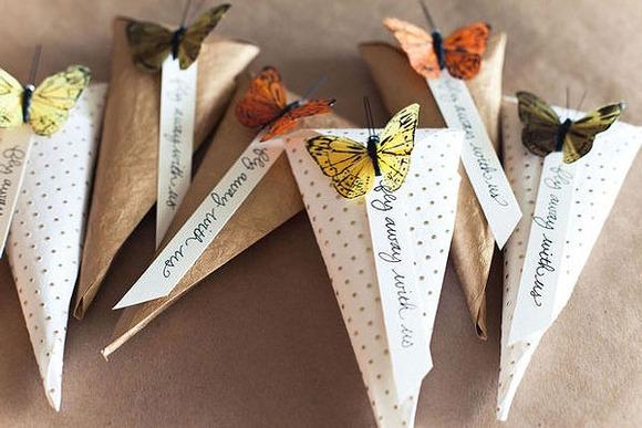 Tarjetas de aniversario mariposa