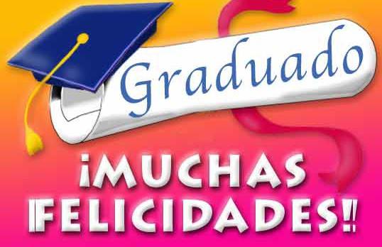 Tarjetas de felicitación graduacion
