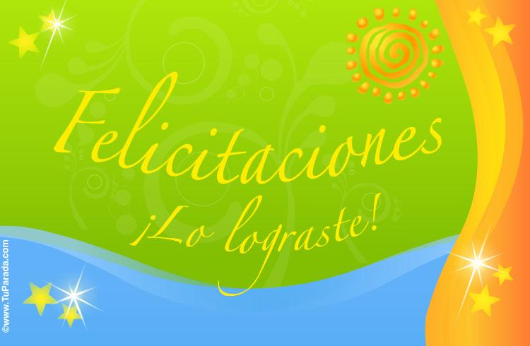 Tarjetas de felicitaciones facebook