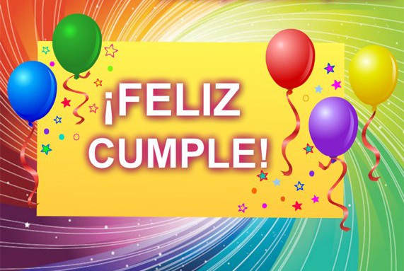 Tarjetas de feliz cumpleaños gratis globos