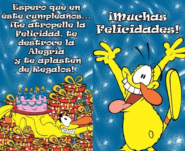 Tarjetas feliz cumpleaños postales