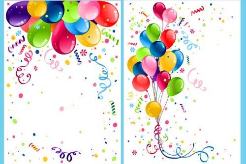 Tarjetas para cumpleaños plantillas